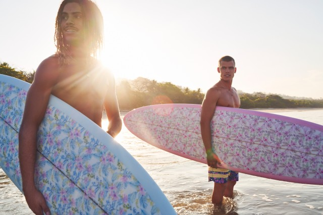 LoveshackFancy Hurley surf collaboration