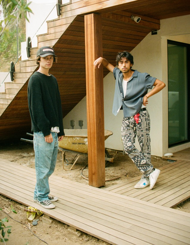 Dylan Jagger Lee and Anton Khabbaz of Motel 7