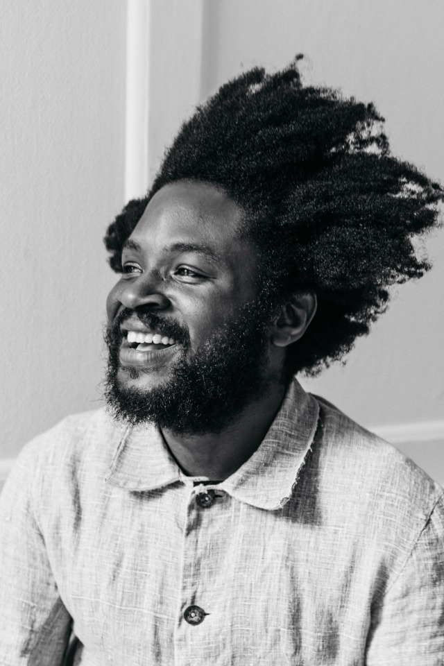 Monad London designer Daniel Olatunji
