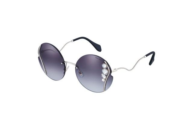 Miu Miu sunglasses manufactured by Essilor Luxottica