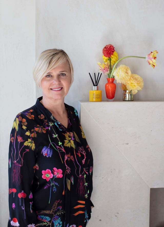 Michelle Feeney, founder and owner of Floral Street.