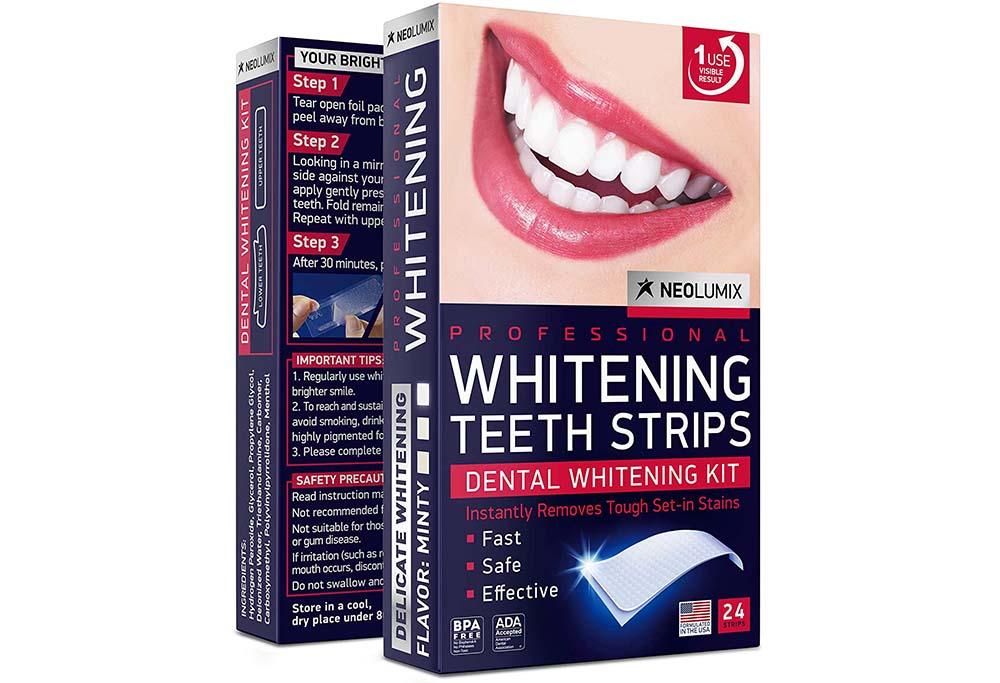 Neolumix Whitening Strips for Sensitive Teeth
