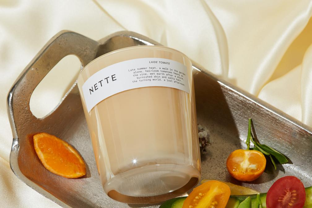 nette laide tomate candle, best luxury candles, scented candles