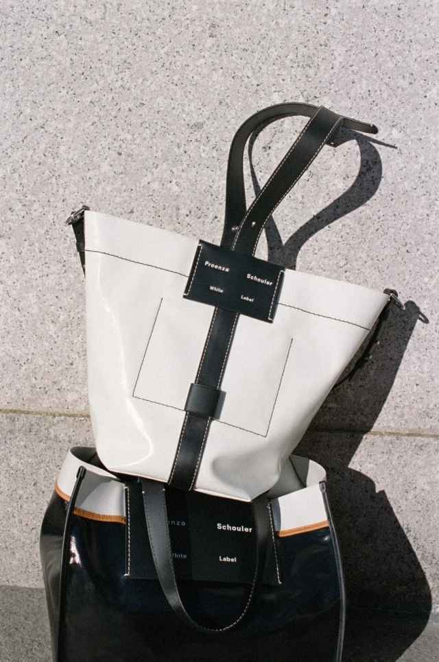Two bag styles from Proenza Schouler White Label