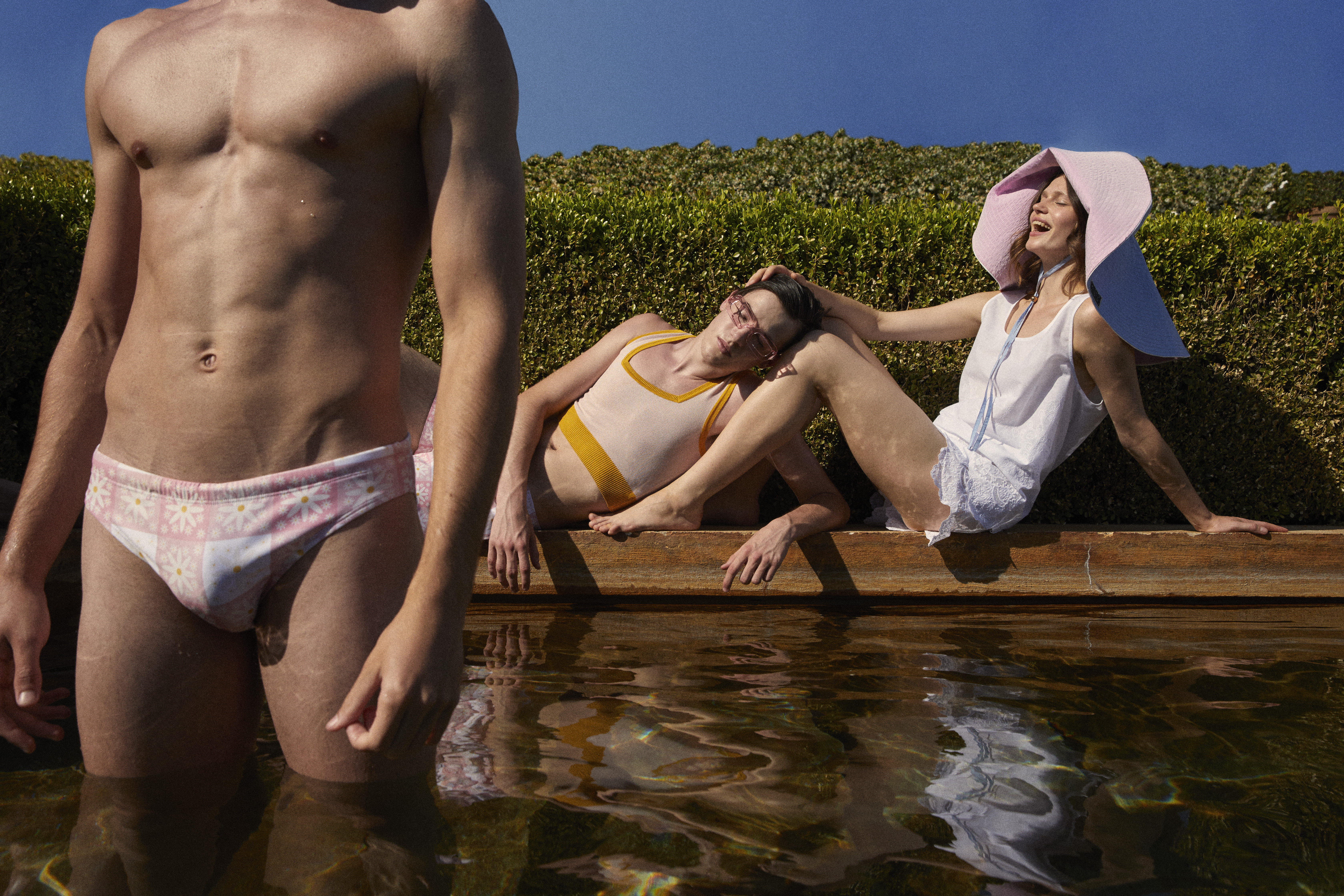 """Looks from the Palomo by Clea """"Summer of Love"""" capsule."""