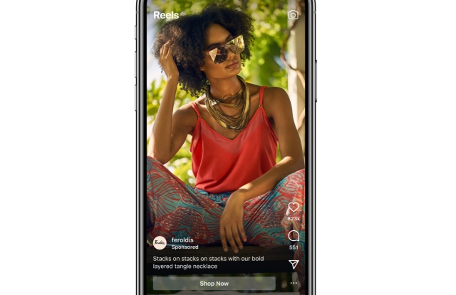 Advertising is now globally available on Instagram's Reels.