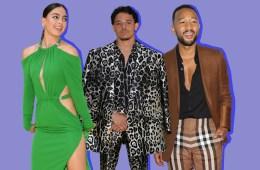 Melissa Barrera, Anthony Ramos and John Legend