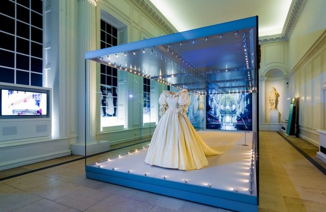 Princess Diana's wedding gown is going on display in a new show at the Orangery at Kensington Palace.
