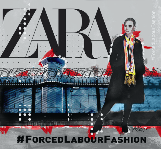 Zara, Forced Labour Fashion