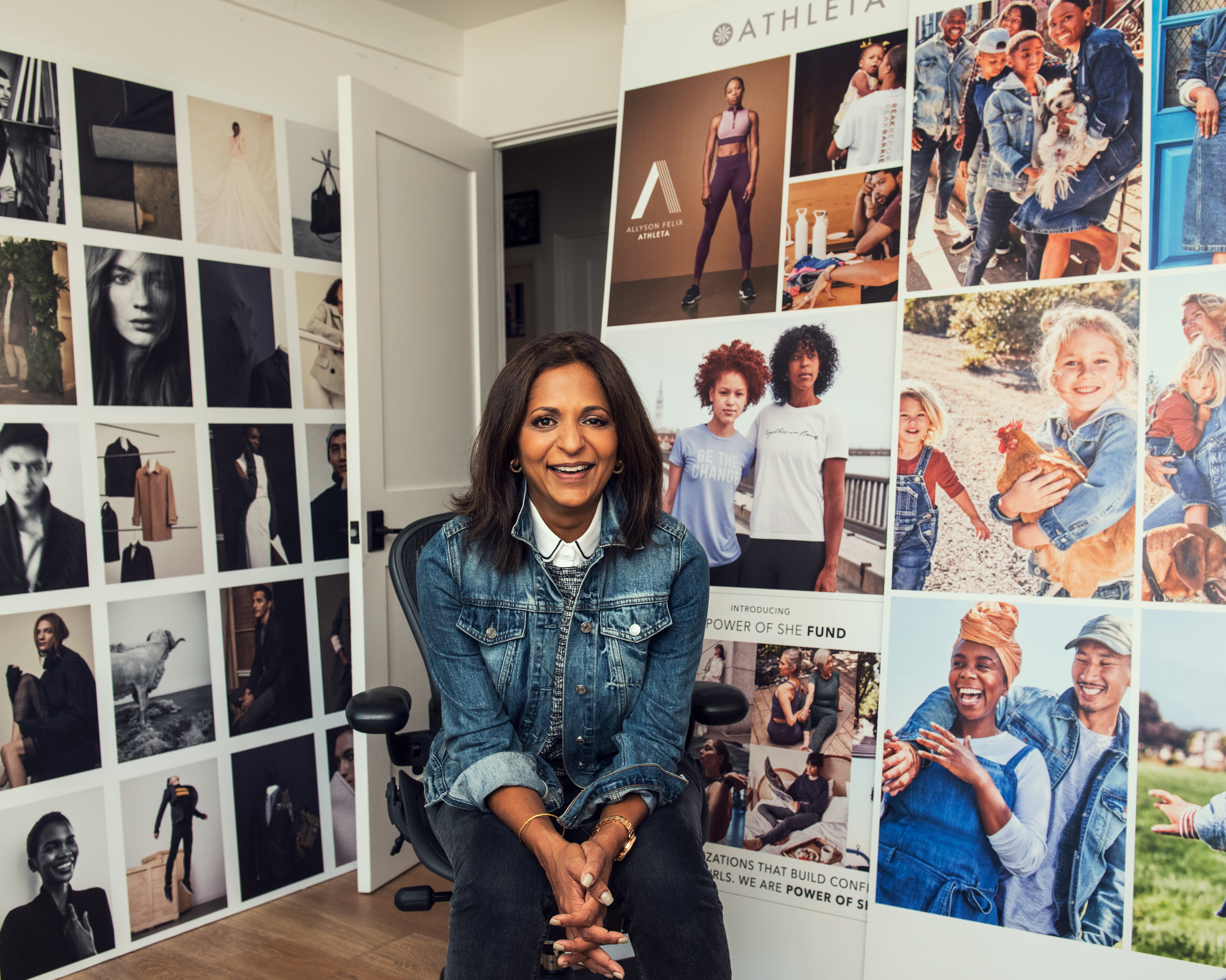 Sonia Syngal, chief executive officer, Gap Inc.