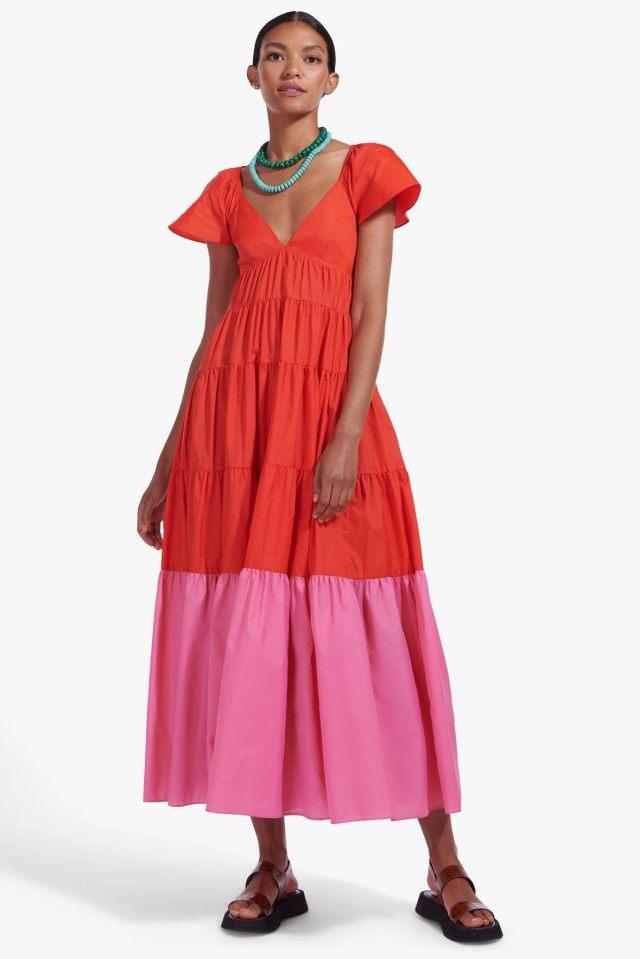 2021 Wedding Guest Dress Trend: Staud
