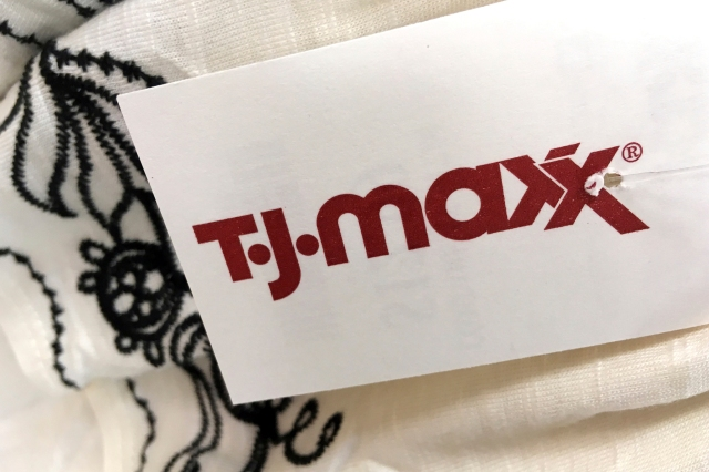 TJ Maxx in North Andover, Mass.