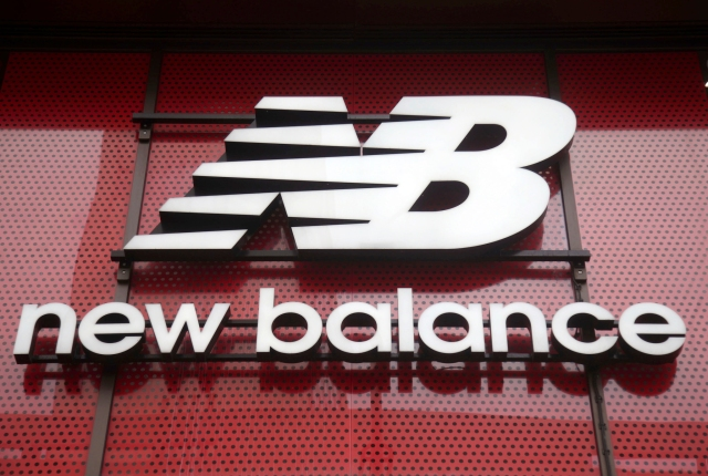 New Balance store on Oxford Street, central London.