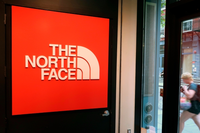 The North Face store in New York.