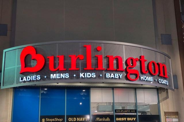 Burlington store in The Atlantic Center Shopping Mall in Brooklyn, NY.