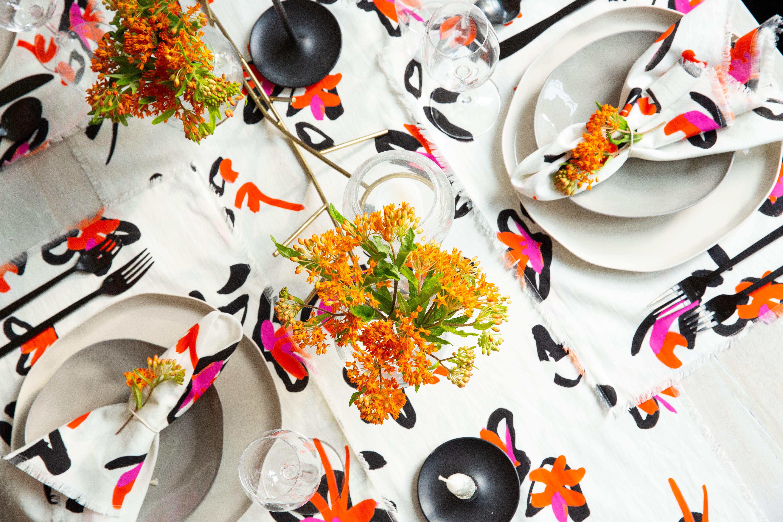 A look at Tanya Taylor's table top designs.