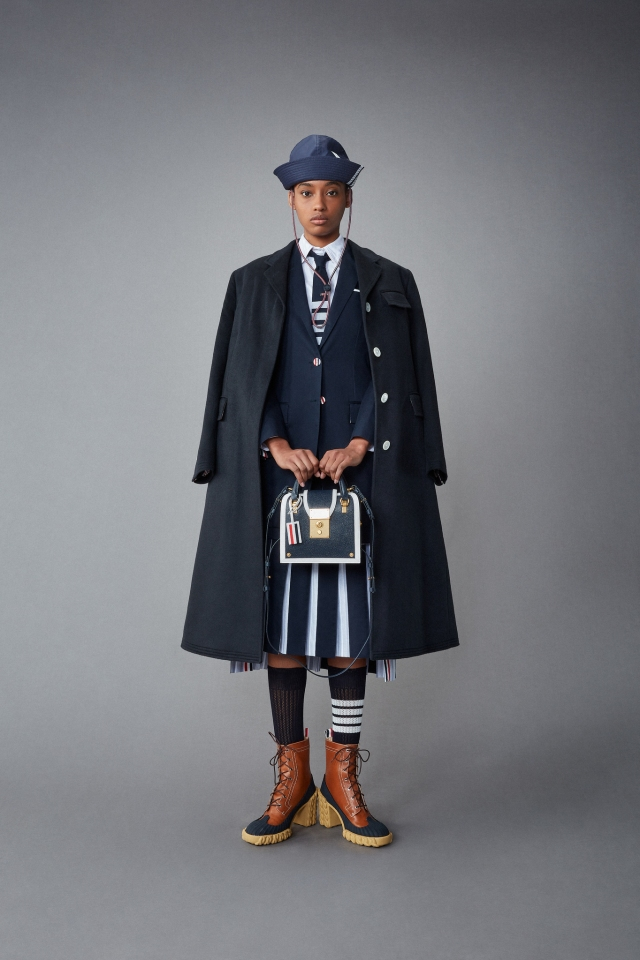 A look from Thom Browne resort 2022.