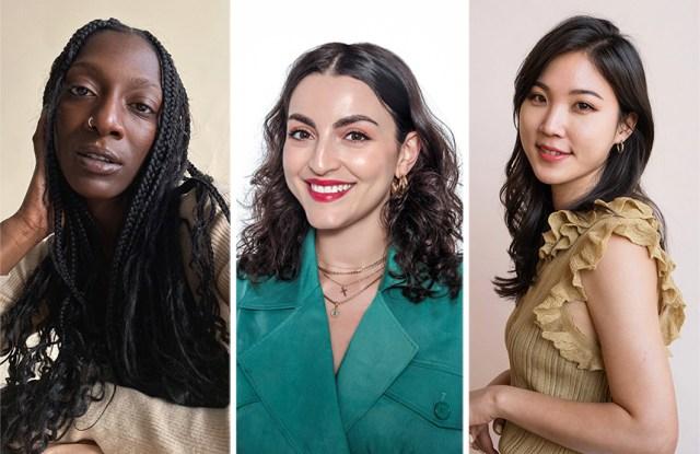 Abena Boamah - Acheampong, Charlotte Palermino, and Liah Yoo
