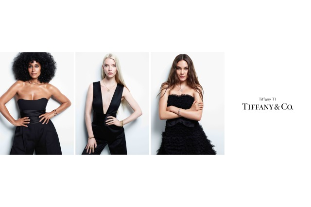 Tiffany & Co.'s new T1 campaign featuring Tracee Ellis Ross, Anya Taylor-Joy and Eileen Gu.
