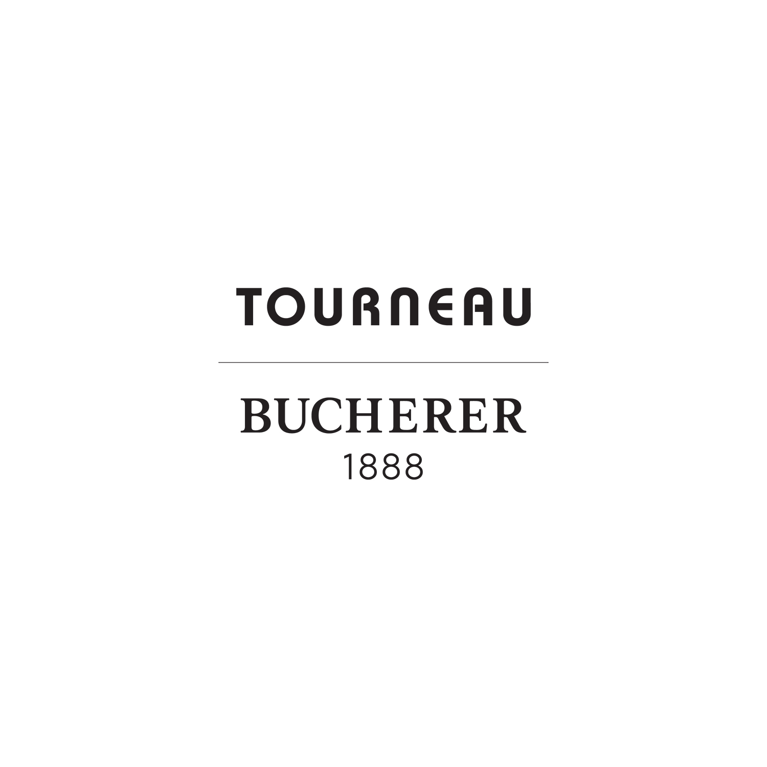 """Tourneau's new hybrid """"Tourneau Bucherer"""" logo, which will transition to Bucherer only after one year."""