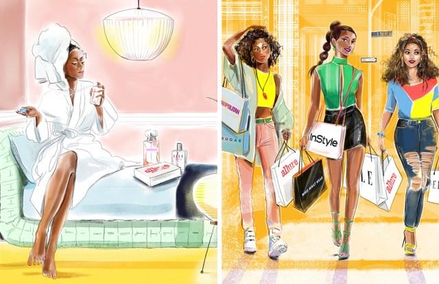 Media's Beauty Business Play