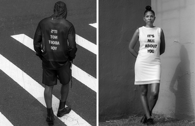 Helmut Lang and Hank Willis Thomas Launch Limited Collection