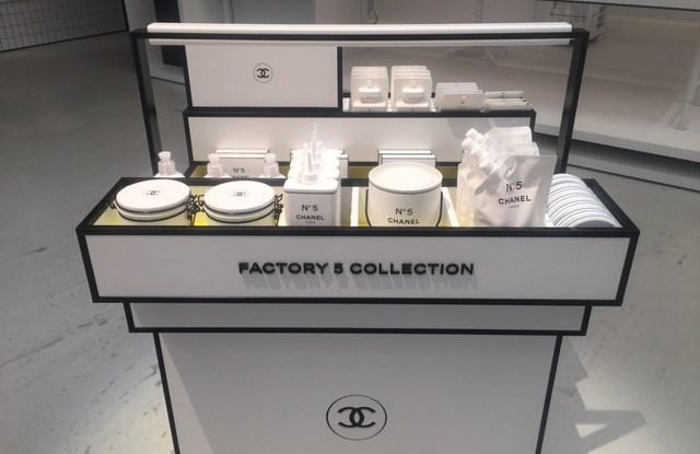 Inside Chanel's Factory 5 in Paris.