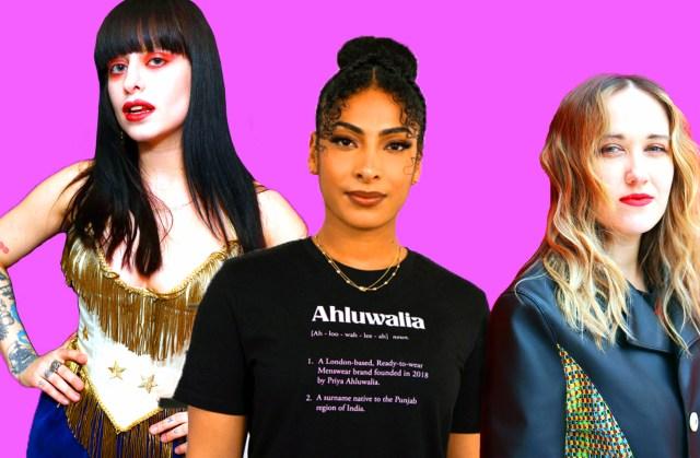 Dilara Findikoglu, Priya Ahluwalia and Bethany Williams