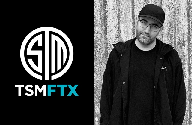 Erik Marino, TSM FTX vice president of apparel
