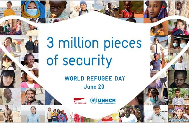 UNHCR Uniqlo Fast Retailing