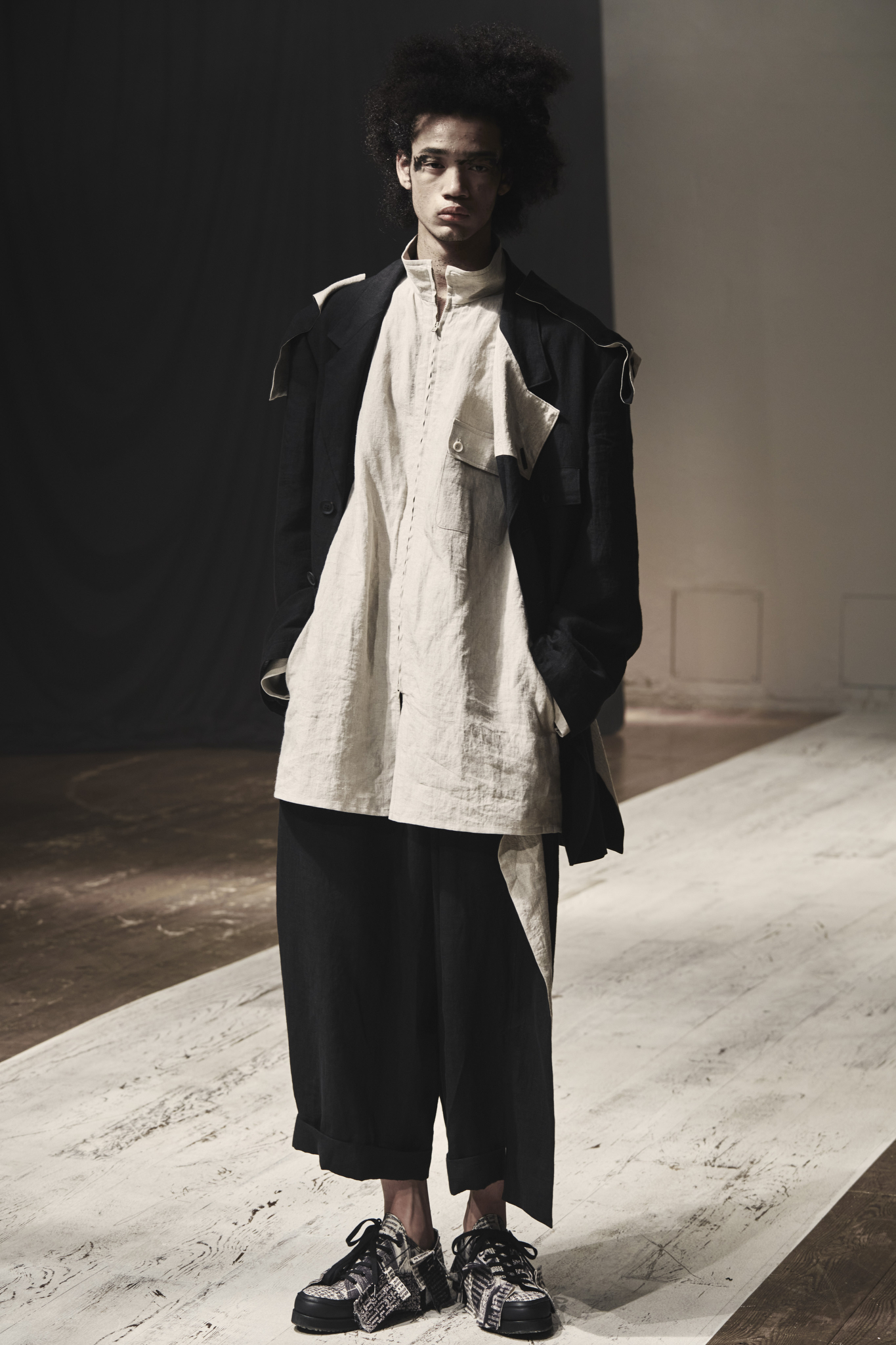 Yohji Yamamoto Men's Spring 2022