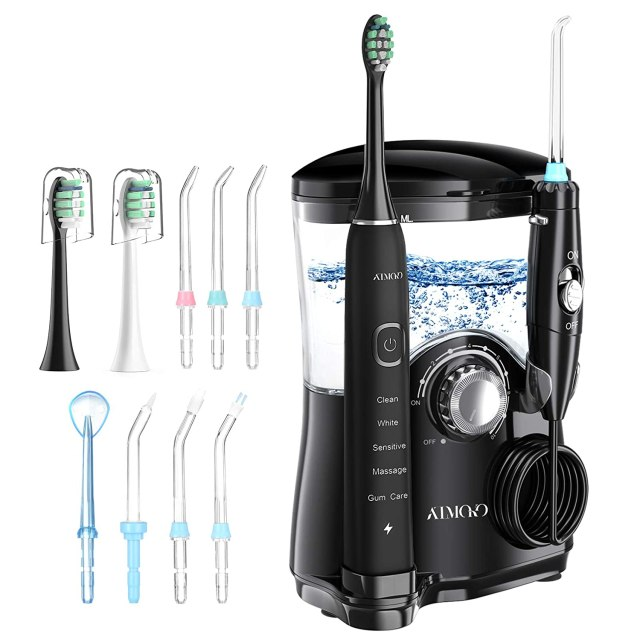 atmoko water flosser, electric toothbrush, best amazon prime day deals