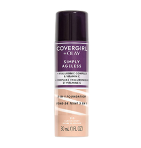 CoverGirl + Olay Simply Ageless 3-in-1 Liquid Foundation, amazon prime day best beauty deals