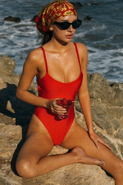 A swim look from Sunlight Muse