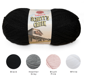 """""""Schitt's Creek"""" yarn will be made available to home knitters to create looks from the popular series."""