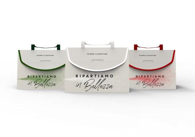 """The """"Ripartiamo in Bellezza"""" kits by L'Oréal Luxe Italia."""