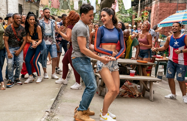 """A still from """"In the Heights."""""""