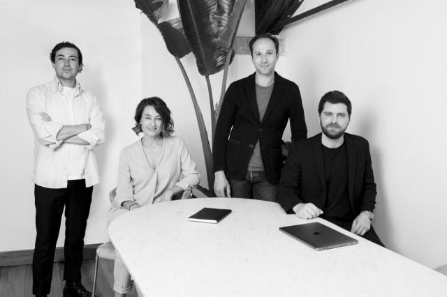 Enrico De Finis, Angela Masiero, Olivier Billon and Matteo Baldi