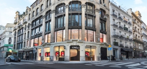 The Madrid flagship.