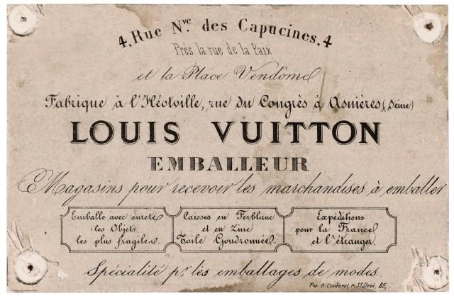 Louis Vuitton 1854