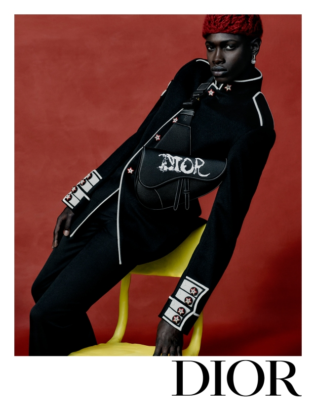 The Dior fall men's advertising campaign.