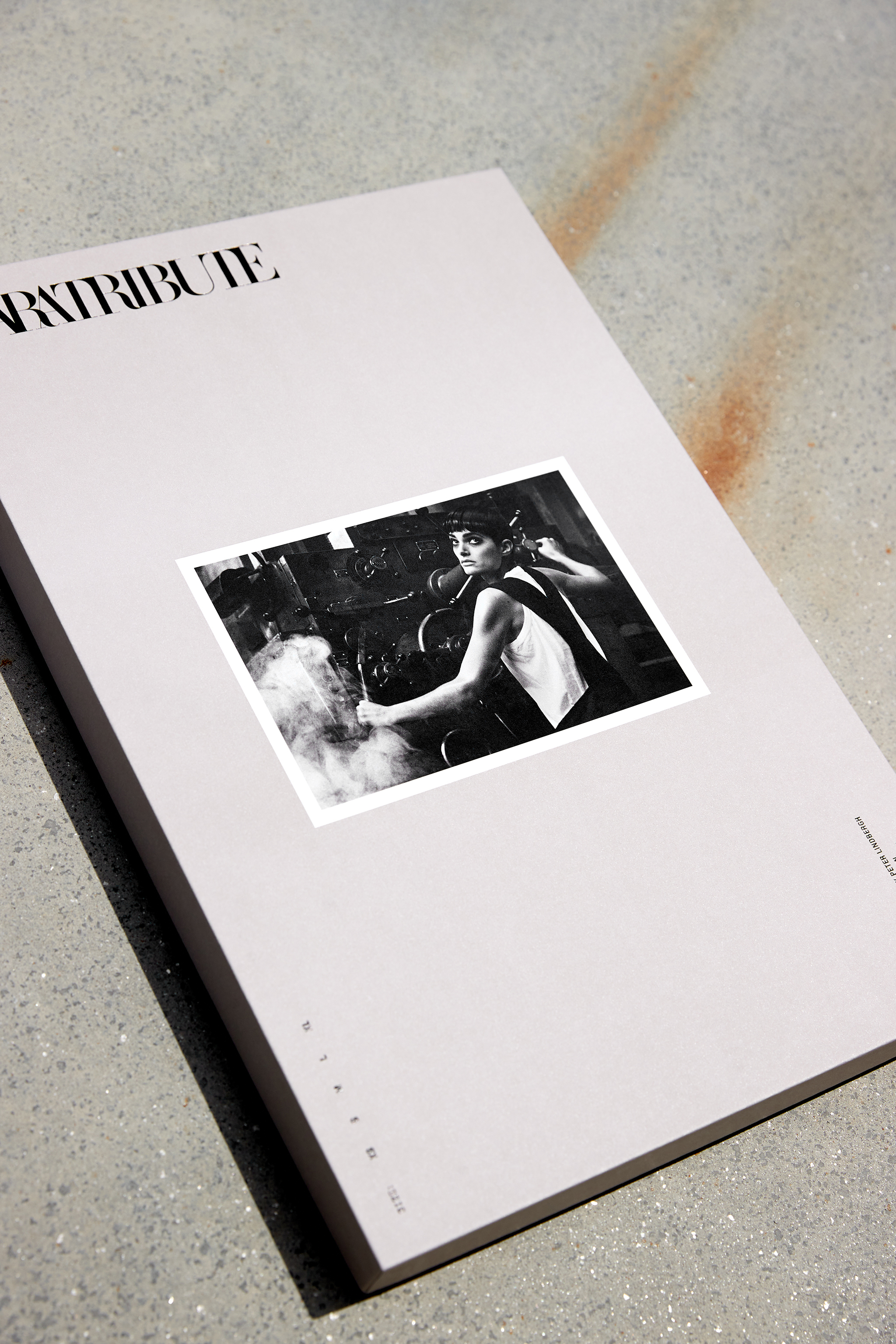 The packaging created by Fabien Baron for Zara's Peter Lindbergh T-shirts and hoodies.