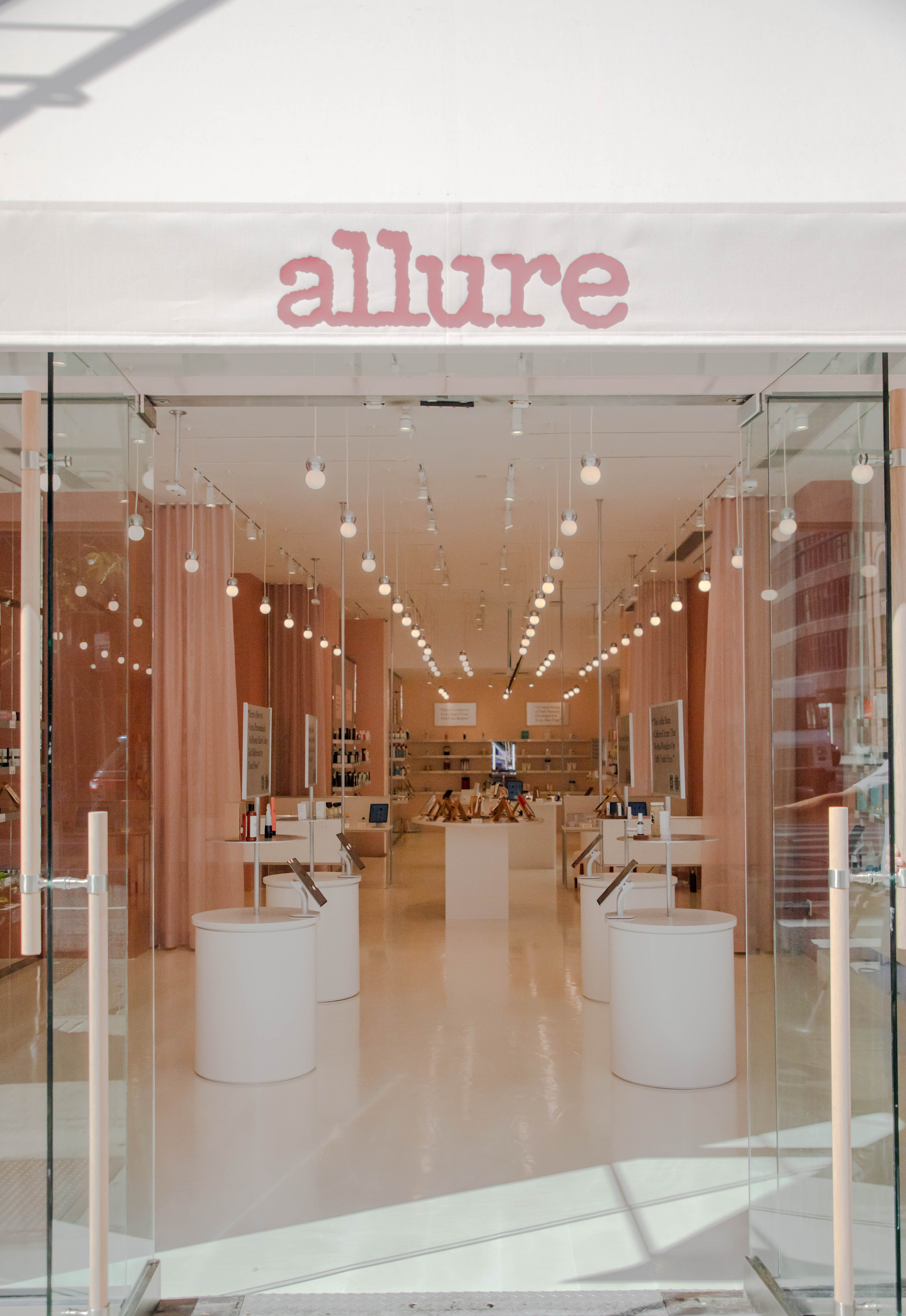 Allure's First Store in SoHo
