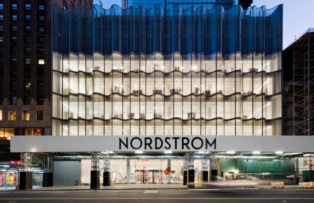 The Nordstrom flagship on 57th Street in Manhattan.