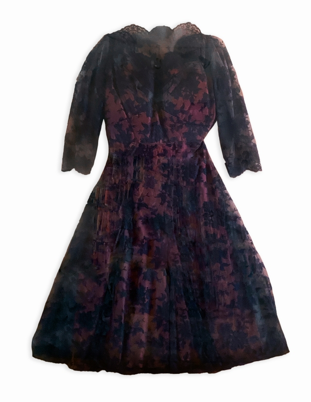 A dress once worn by Billie Holiday