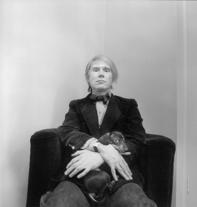 Andy Warhol in Cartier