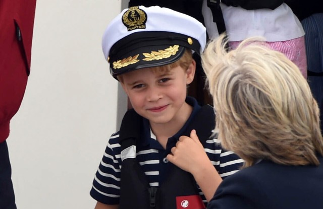 Duchess of Cambridge Photographs Smiling Prince George on 8th Birthday
