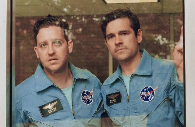 "Trevor Einhorn and Jason Ralph in ""The Great Filter."""