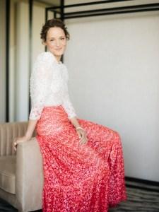 "Vicky Krieps in Chanel for the ""Bergman Island"" premiere"