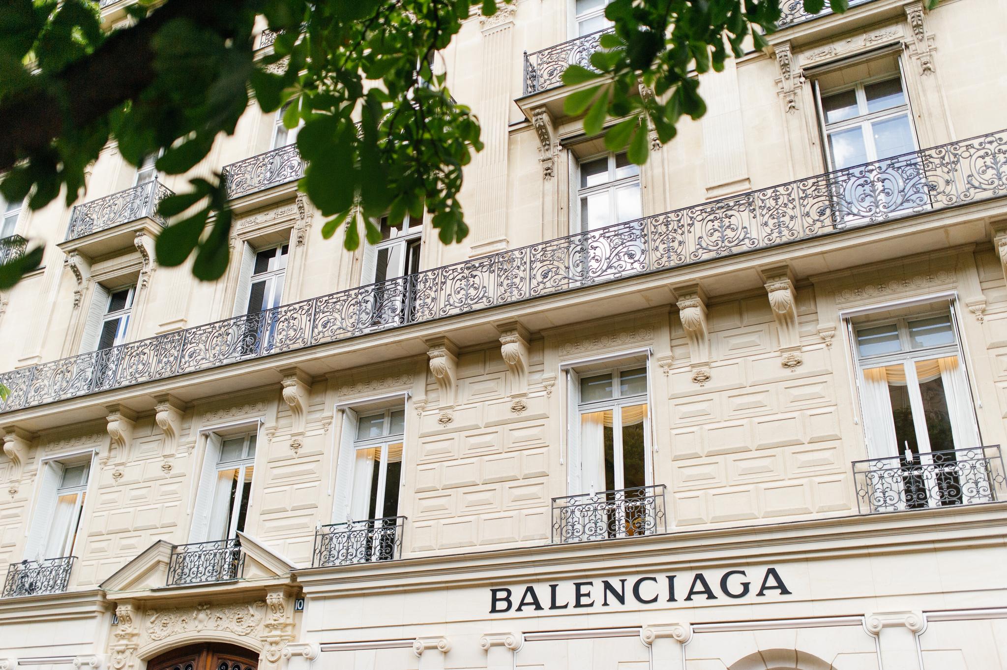 Balenciaga in Paris.